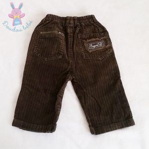 Pantalon velours marron bébé garçon 12 MOIS ORCHESTRA