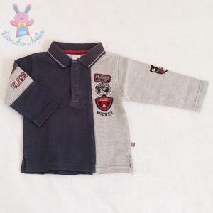 Polo Mickey bébé garçon 12 MOIS DISNEY