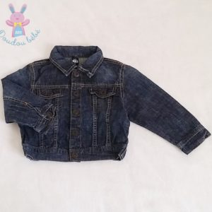 Veste en jean bleu bébé garçon 12/18 MOIS ZARA