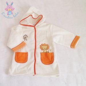 Peignoir à capuche bébé garçon 12 MOIS