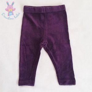 Legging violet bébé fille 12 MOIS CONFETTI