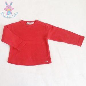 T-shirt rouge bébé garçon 18 MOIS CIE DES PETITS