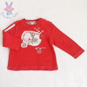 T-shirt rouge bébé garçon 18 MOIS ORCHESTRA