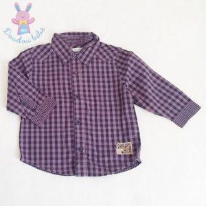 Chemise à carreaux bébé garçon 18 MOIS
