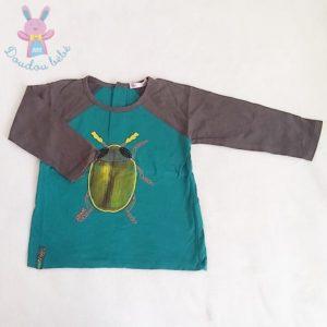 T-shirt scarabée bébé garçon 18 MOIS DPAM