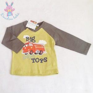 T-shirt vert Cars bébé garçon 18 MOIS DISNEY