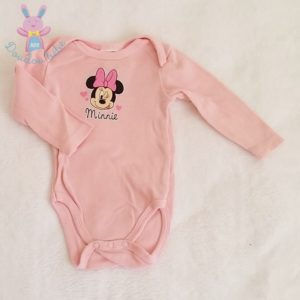 Body rose Minnie bébé fille 3 MOIS DISNEY