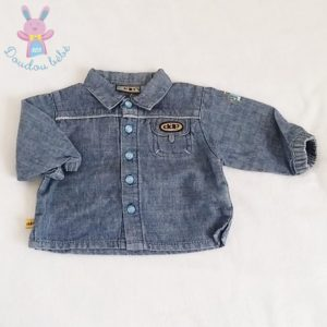 Chemise jean bleu bébé garçon 6 MOIS DDP