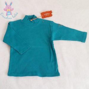 T-shirt turquoise bébé 6 MOIS MARESE
