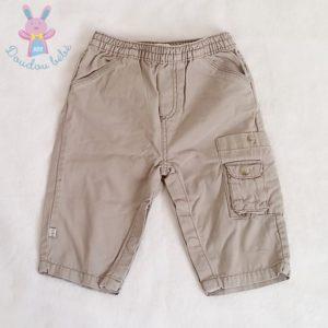 Pantalon beige bébé garçon 6 MOIS OBAIBI