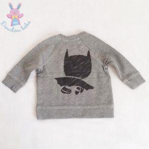 Sweat gris Batman bébé garçon 6 MOIS H&M