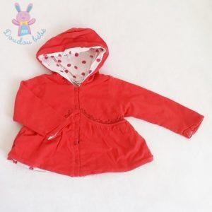 Gilet rouge bébé fille 9 MOIS CATIMINI