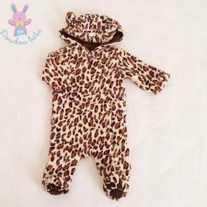 Combinaison polaire tigré bébé 1 MOIS