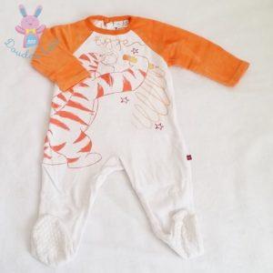 Pyjama velours Tigrou bébé garçon 12 MOIS DISNEY