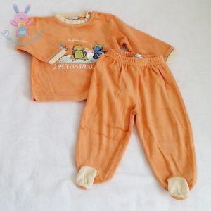 Pyjama orange dragons bébé garçon 12 MOIS