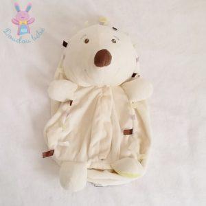 Doudou Hérisson blanc range pyjamas Bébé 9
