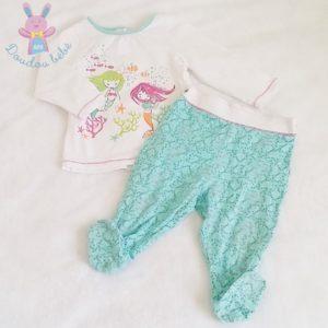 Pyjama coton bébé fille 12 MOIS ORCHESTRA