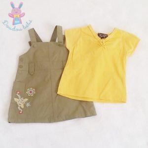 Ensemble Robe + T-shirt bébé fille 3 MOIS