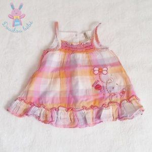 Robe à bretelles bébé fille 3 MOIS ORCHESTRA