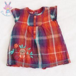 Robe à carreaux bébé fille 3 MOIS DPAM