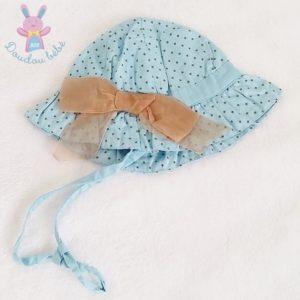 Robe à pois + chapeau bébé fille 6 MOIS
