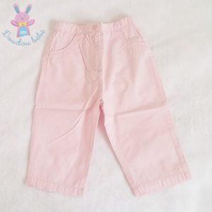 Pantalon léger rose bébé fille 6 MOIS DPAM