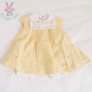 Barboteuse robe bébé fille 6 MOIS NATALYS