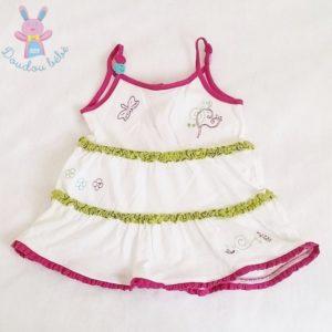 Robe à bretelles bébé fille 6 MOIS ORCHESTRA