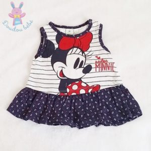 Robe Minnie sailor bébé fille 6 MOIS DISNEY
