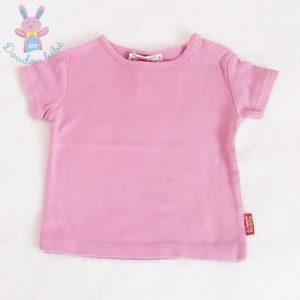 T-shirt rose bébé fille 6 MOIS CIE DES PETITS