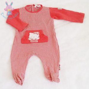Pyjama coton rayé bébé fille 9 MOIS HELLO KITTY