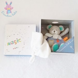 Ours magic mouchoir DOUDOU ET COMPAGNIE
