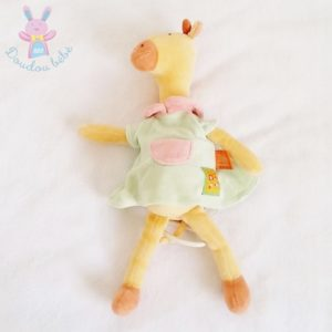 Doudou Girafe musical Les loustics MOULIN ROTY