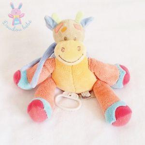 Doudou Girafe Oasis musical coloré NATTOU