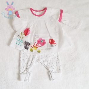 Combinaison robe bébé fille 1 MOIS CATIMINI