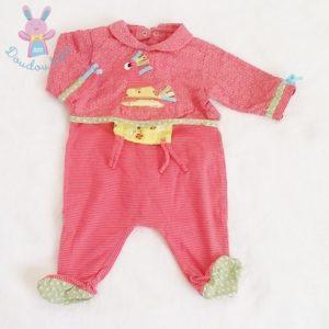 Pyjama fantaisie bébé fille 1 MOIS CATIMINI