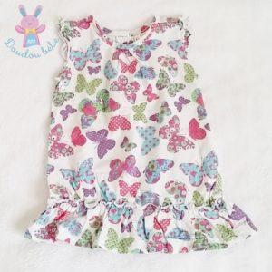 Robe papillons bébé fille 12 MOIS