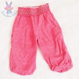 Pantalon rose bébé fille 12 MOIS ORCHESTRA