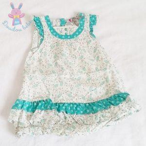 Robe fleurs bébé fille 12 MOIS ORCHESTRA