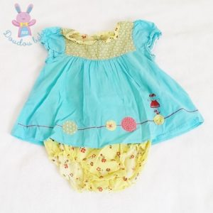 Barboteuse robe bébé fille 12 MOIS CATIMINI