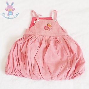Robe bretelles rose bébé fille 12 MOIS CATIMINI