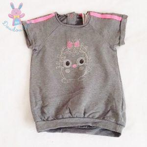 Robe grise bébé fille 9 MOIS ORCHESTRA