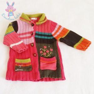 Gilet coloré bébé fille 12 MOIS CATIMINI