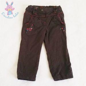 Pantalon marron bébé fille 2 ANS CATIMINI