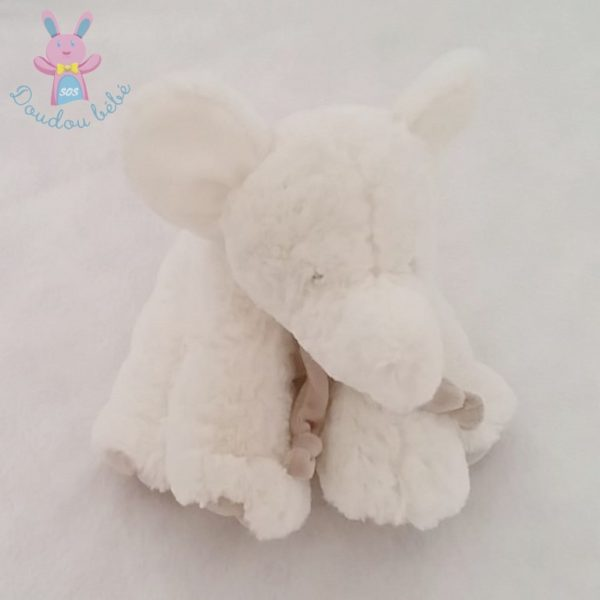 Doudou Eléphant blanc DOUDOU ET COMPAGNIE