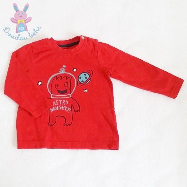 T-shirt rouge bébé garçon ORCHESTRA
