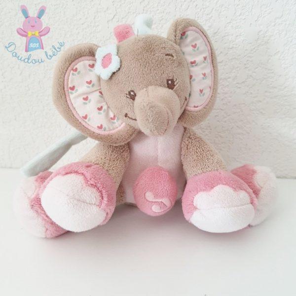 Doudou éléphant musical NATTOU