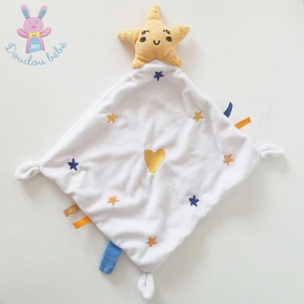 Doudou Etoile mouchoir BABY CALIN