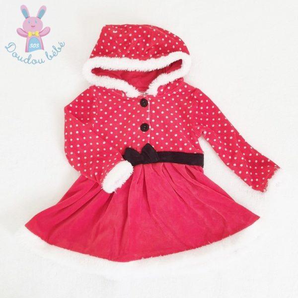 Robe de Noël rouge bébé fille 18 MOIS