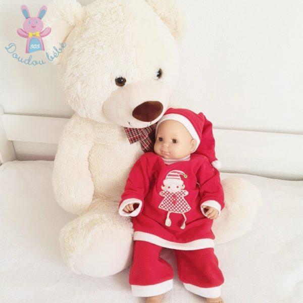 Tenue de Noël rouge bébé fille 6 MOIS